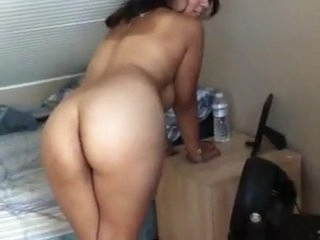 Big Cumshot for Busty Indian college girl