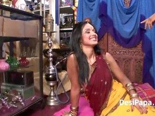 Indian Pornstar With Her Boyfriend Sucking Fucking In HD Porn