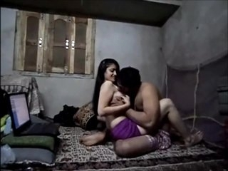 Indian college babe caught with her boyfriend