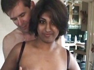 Indian housewife fucked by two white men