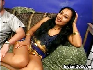Hairy Indian In A Threesome