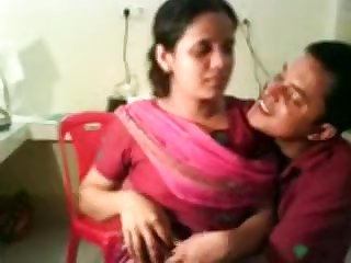 Indian Girl First Kiss By BF