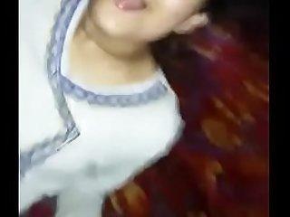 Beautiful white indian girl