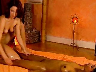 Lesbian Relaxing Massage