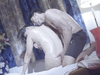 Fully nude Indian massage