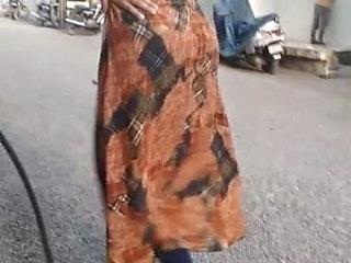 Tight Salwar gaand slut walk