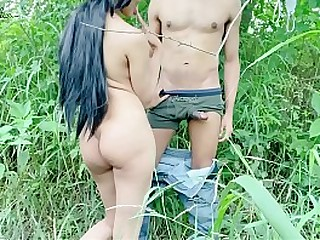 sexy beb fuck in the woods fully naked