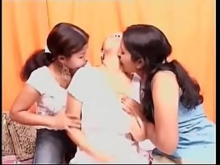 hot indian lesbos having fun