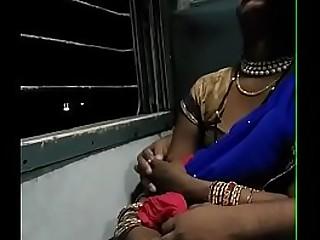 husband smooches his desi bhabhi in public
