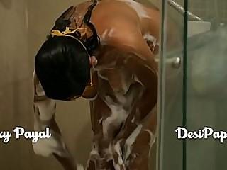 indian bhabhi in shower