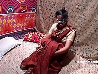 Indian Housewife In Saree
