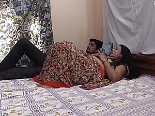 Desi sister in law trained her brother for sex!!! He got best sex experience