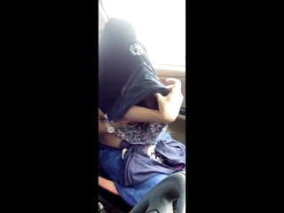 Cute Indian Girl Sex in Car While Raining